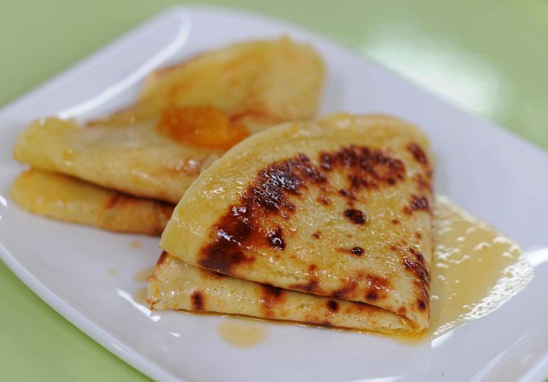 Pancakes with jam, photo: Piotr Bławicki / East News