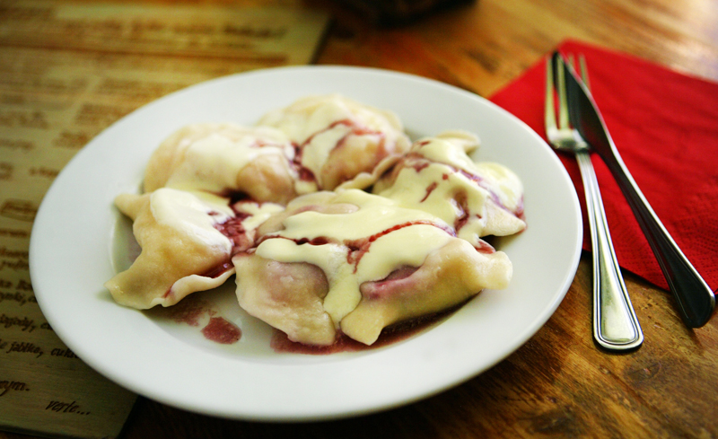 Pierogi with raspberries, photo: Seweryn Sołtys  / Fotorzepa / Forum