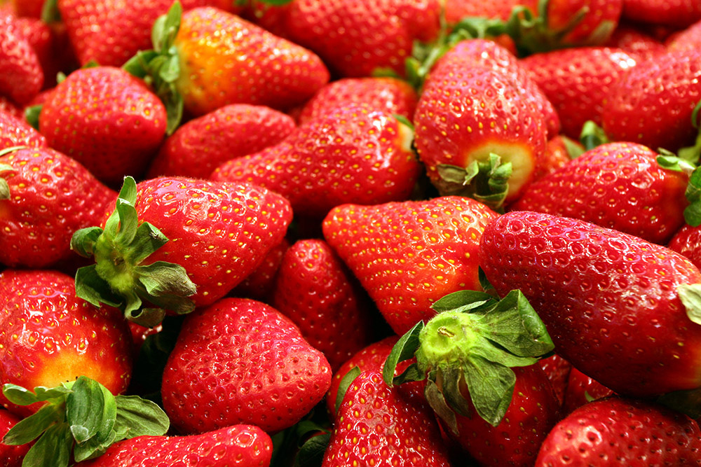 Strawberries, photo: Bartłomiej Molga/Forum