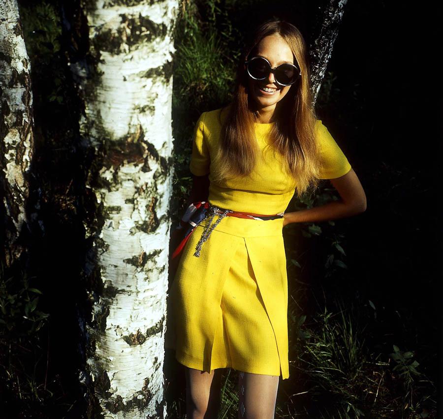 Małgorzata Braunek, Barbara Hoff's fashion, photo: Tadeusz Rolke /AG