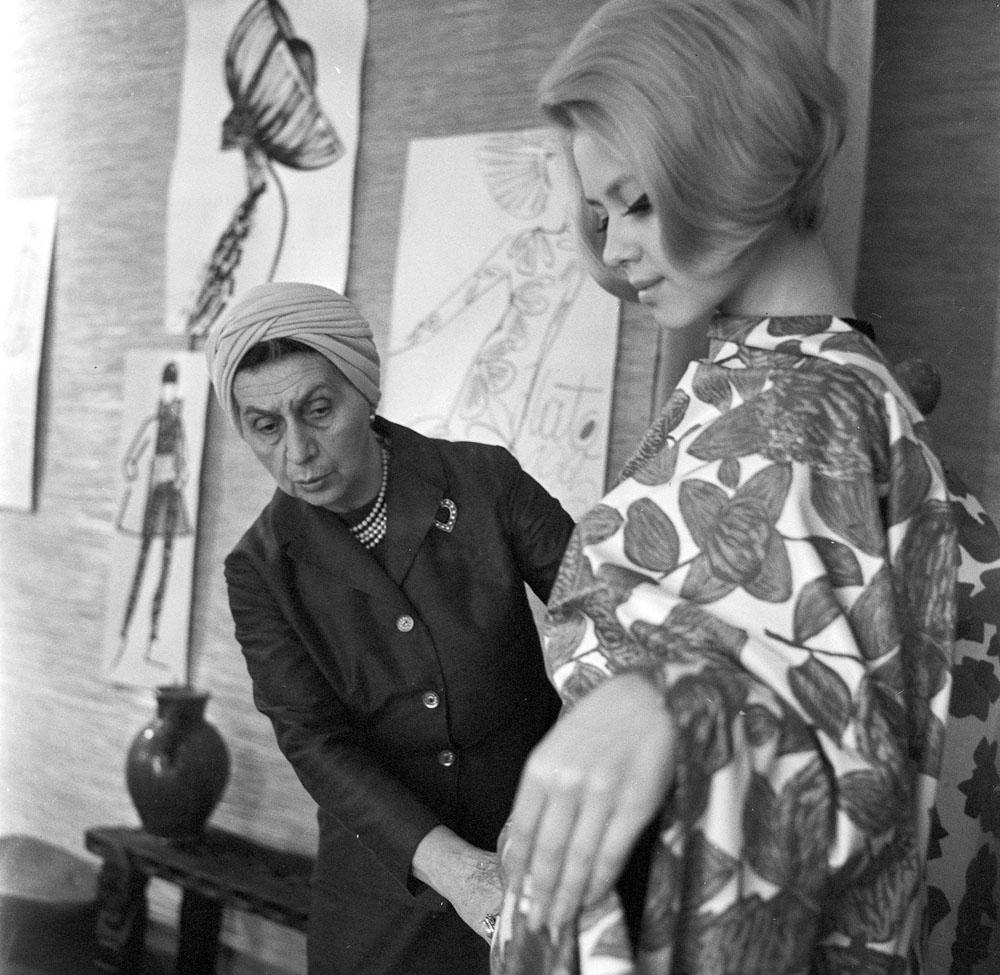 Jadwiga Grabowska, director of Moda Polska in 1965, photo by Cezary Langda
