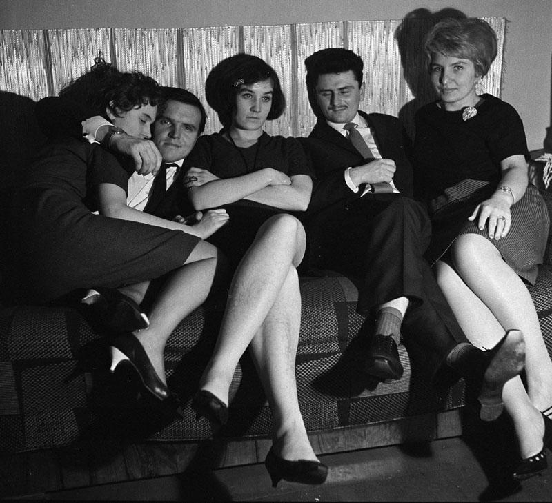 Zabawa studencka, 1960, fot. Jerzy Makowski/Forum