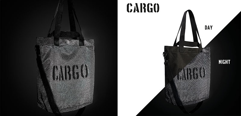 """Odblaskowa torba """"CARGO by OWEE"""", projekt- Anna Migacz-Lesińska, producent- CARGO by OWEE, Must Have 2016, fot. materiały prasowe Łódź Design Festival.jpg"""