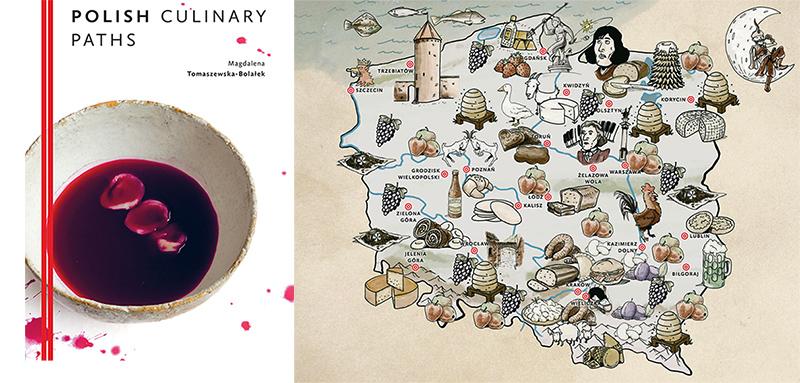 Okładka i ilustracja z książki Polish Culinary Paths, photo: Hanami / www.kuchniokracja.hanami.pl