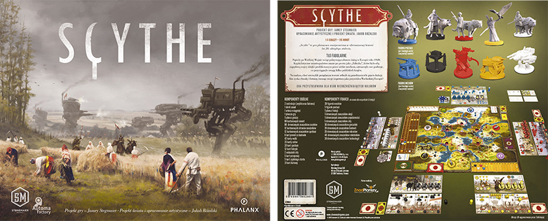 Scythe - strategic board game, photo: www.phalanxgames.pl