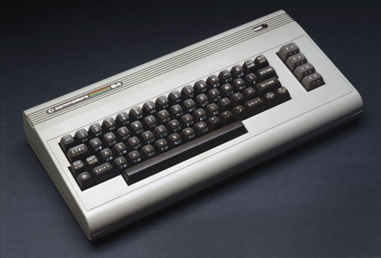 The Commodore 64 has 64k memory (RAM), a MOS 6510 processor and a BASIC operating system, photo: SSPL / Science Museum / Forum