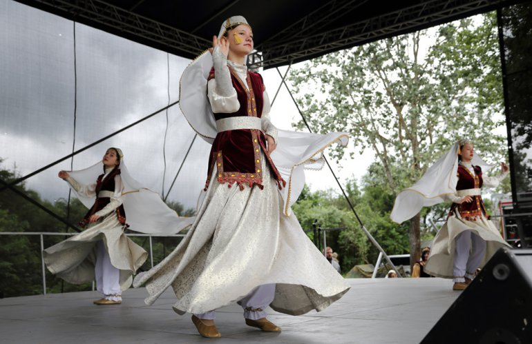 Tatarski zespół Bunczuk, fot. Anatol Chomicz / Forum