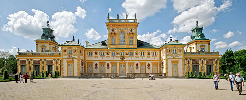 King Jan III's Palace Museum at Wilanów, photo: Przemysław Jahr/Wikimedia Commons