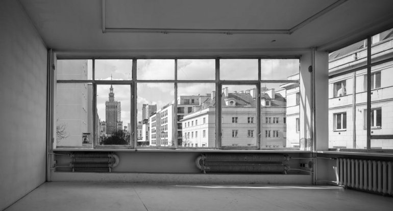 Fundacja Galerii Foksal, wnętrze budynku, fot. Juliusz Sokołowski