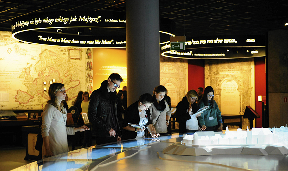 POLIN Museum of the History of Polish Jews core exhibition, photo: Adam Stępień/Agencja Gazeta
