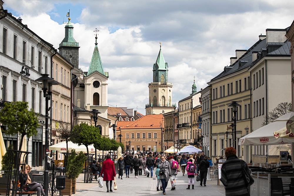 Ул. Краковское предместье в Люблине. Фото: Якуб Ожеховский /AG