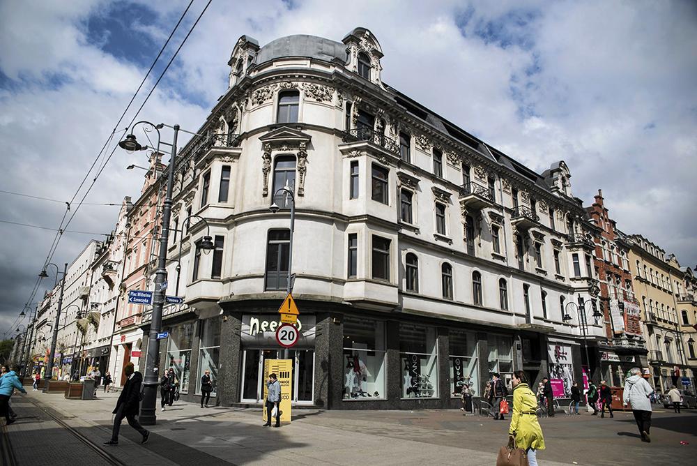Stawowa Street in Katowice, photo: Kamila Kotusz/AG
