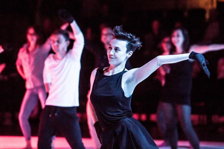 """""""Dance karaoke,"""" Willi Dorner, photo: ©Jakub Wittchen for Art Stations Foundation by Grażyna Kulczyk"""