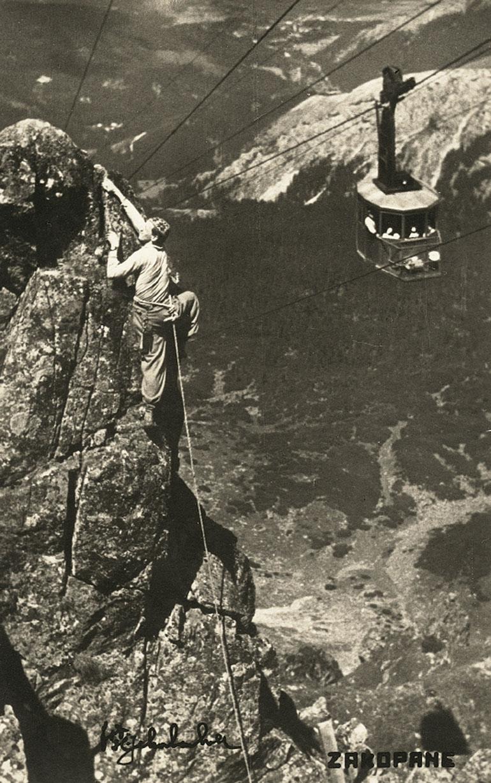 Henryk Schabenbeck, Kasprowy Wierch 1936r., fot. ze zbiorów Tatrzańskiego Parku Narodowego