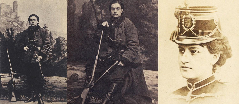 A portrait of Anna Pustowojtówna, 1863, 1870, photo: National Library/POLONA
