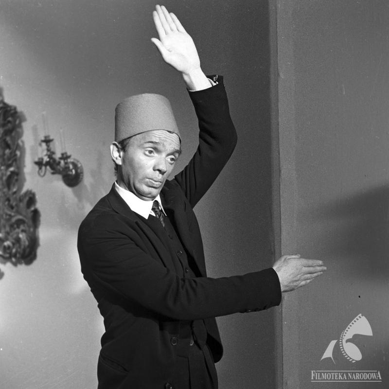 """Krzysztof Litwin w filmie Stanisława Lenartowicza """"Cała naprzód"""", 1966, fot. Jerzy Troszczyński / Filmoteka Narodowa"""