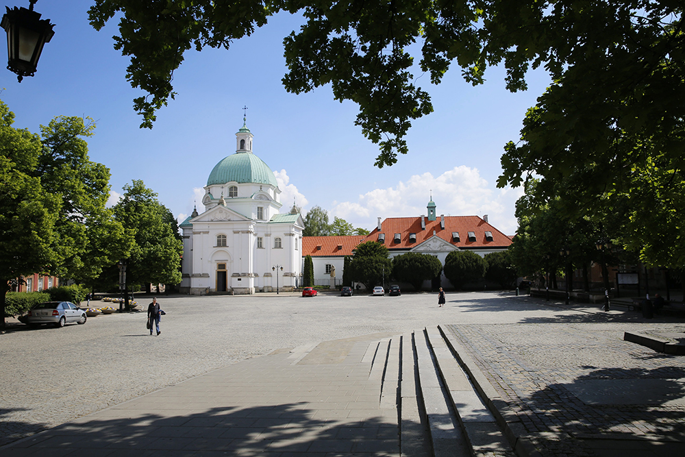 St. Kazimierz Church founded by Queen Marysieńka after King Jan III Sobieski's Viennese victory, New Town, photo: Waldemar Gorlewski / AG