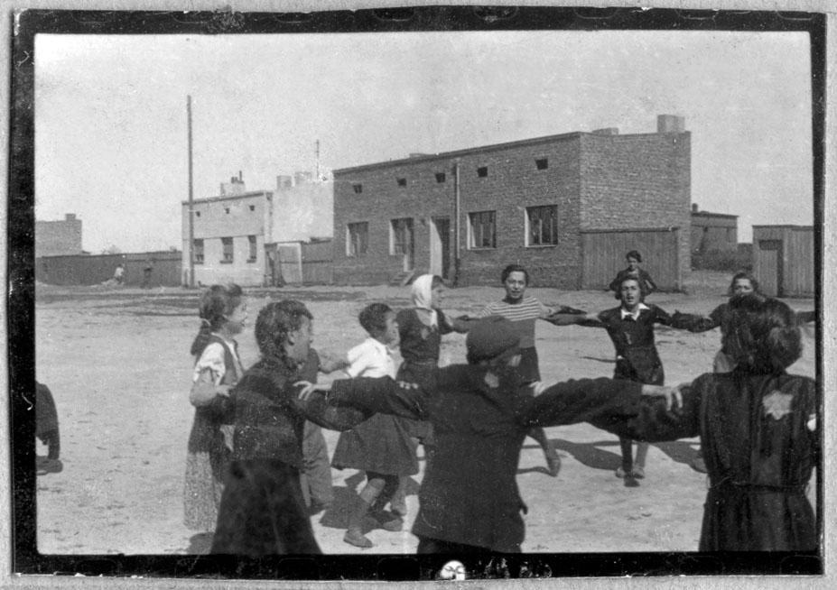 Лодзинское гетто.