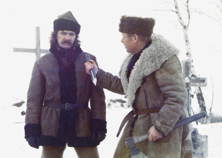 Scene from Marek Piestrak's film The Wolf, photo: Filmoteka Narodowa / www.fototeka.fn.org.pl