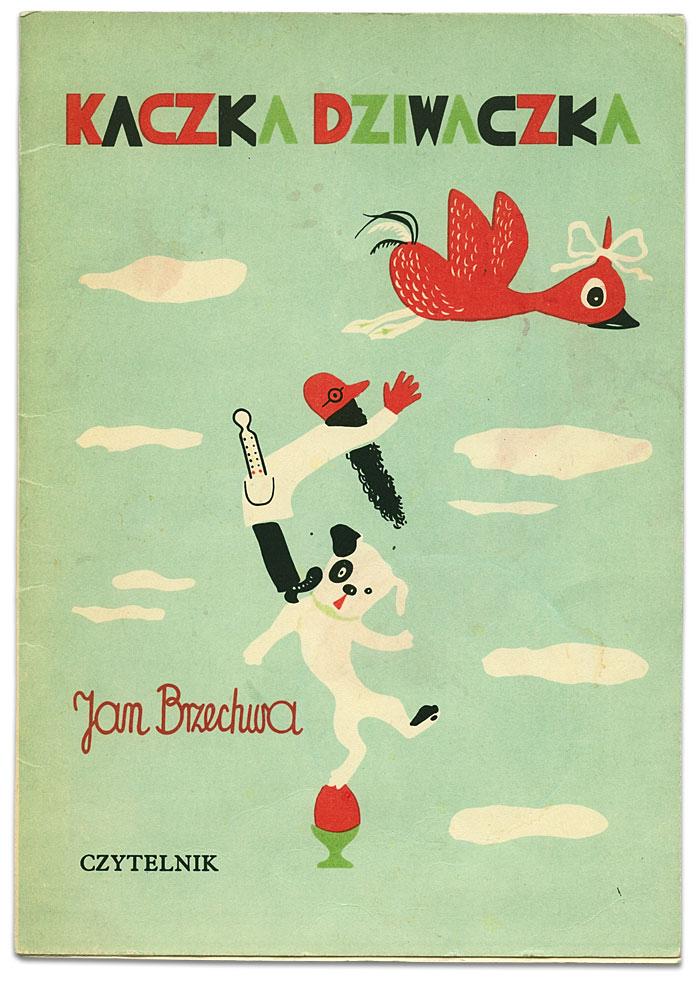 Обложка сборника стихотворений Яна Бжехвы, изд-во Czytelnik