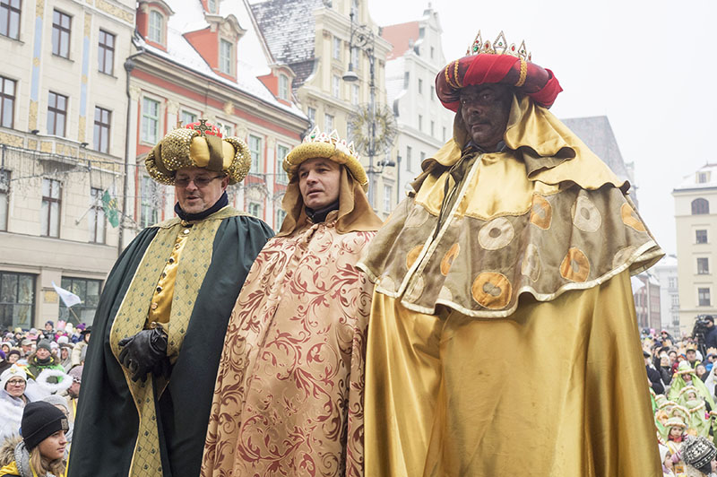 Procession of the Three Kings, photo: Leszek Kotarba / East News
