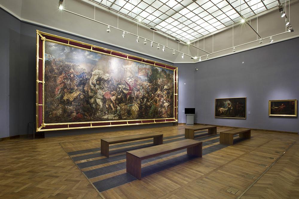 «Битва під Ґрюнвальдом». Фото: Бартош Баєрський / Національний Музей в Варшаві