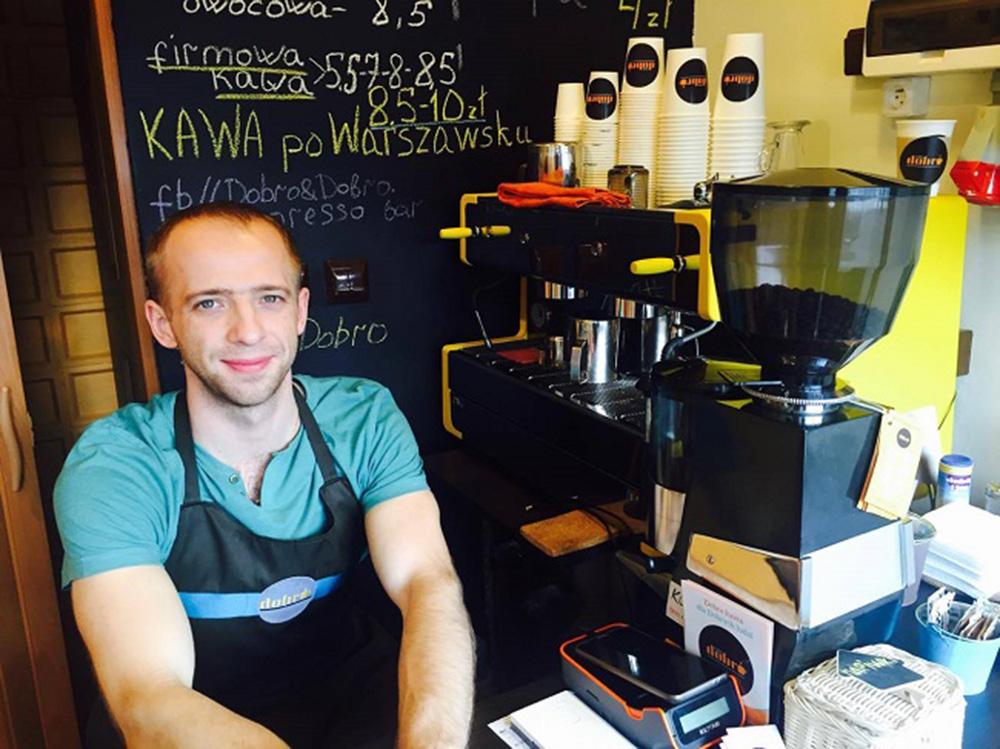 Oleg Yarovyi, owner of 'Dobro&Dobro', photo: Yevgeny Klimakin