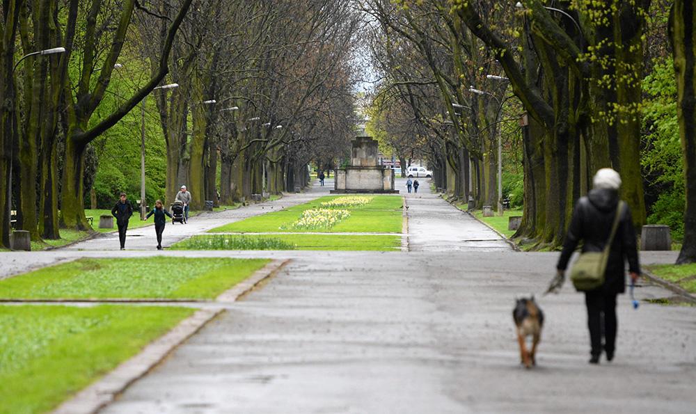 Skaryszewski Park, photo: Franciszek Mazur / AG