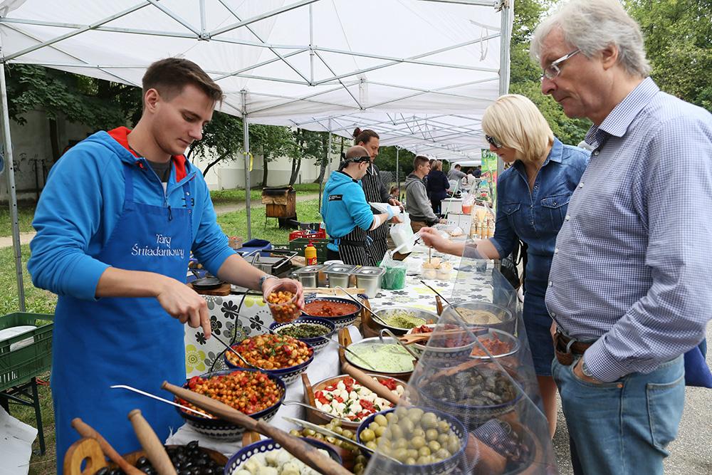 Powiśle food market, photo: Agata Grzybowska / AG