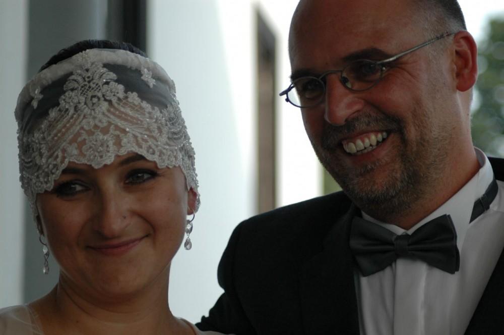 Весілля Ґабі й Уве. Фото: архів сім'ї Зельтман
