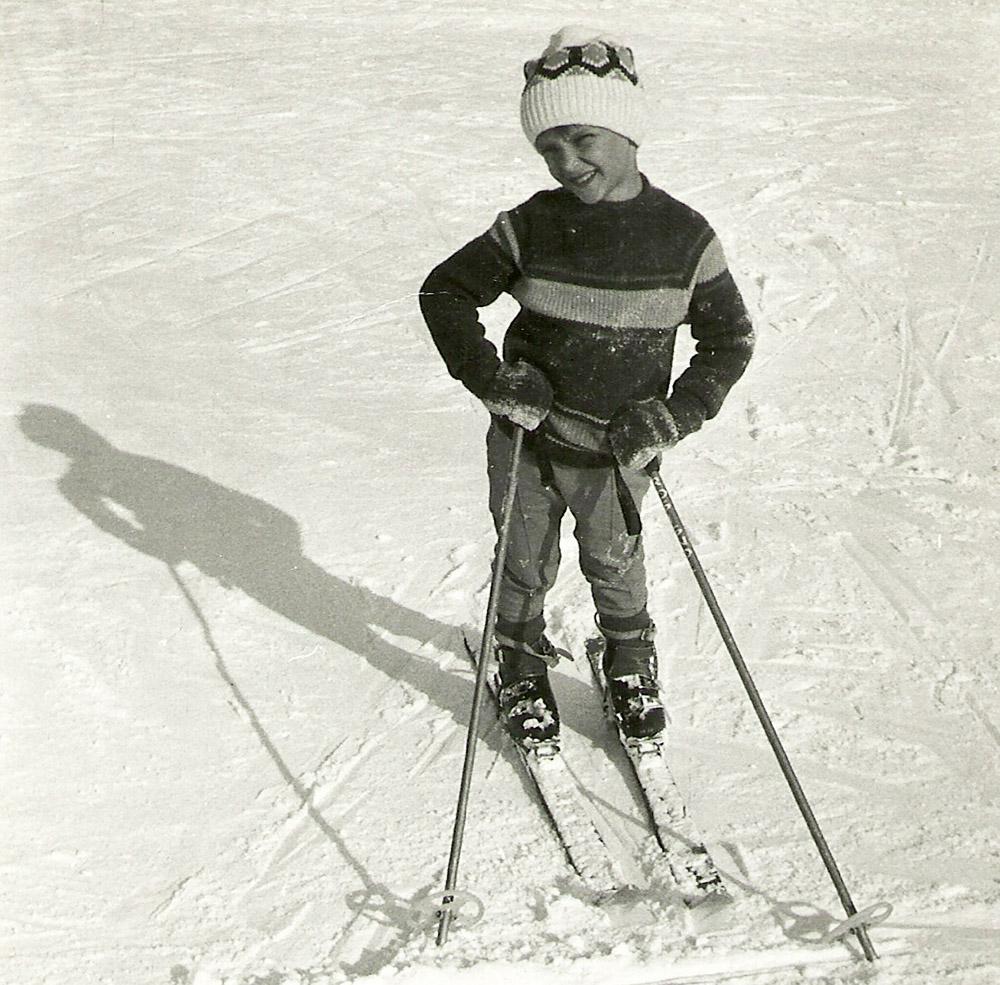Piotr Pogon as a child, photo: P. Pogon's personal collection