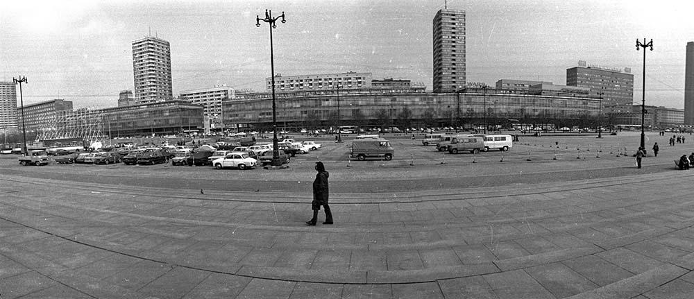 Варшава, площадь Дефилад, 1977 год. Фото: Мирослав Станкевич / Forum