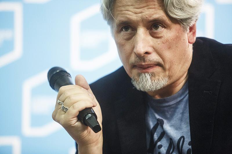 Владимир Сорокин, фото:  Лукаш Гловаля / Agencja Gazeta