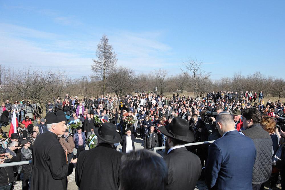 Марш памяти в 75-ю годовщину ликвидации краковского гетто, 11.03.2018. Фото: Станислав Розпендзик / РАР