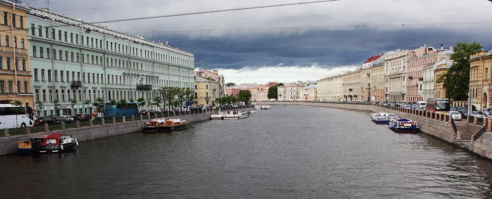 Фонтанка, Санкт-Петербург. Фото Татьяна Косинова