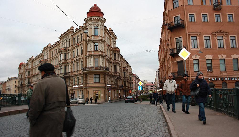 Столярный переулок, Санкт-Петербург. Фото Татьяна Косинова