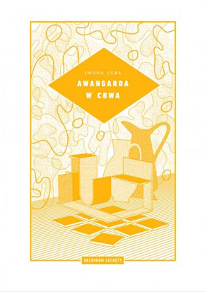 Обкладинка книжки про авангард в CBWA