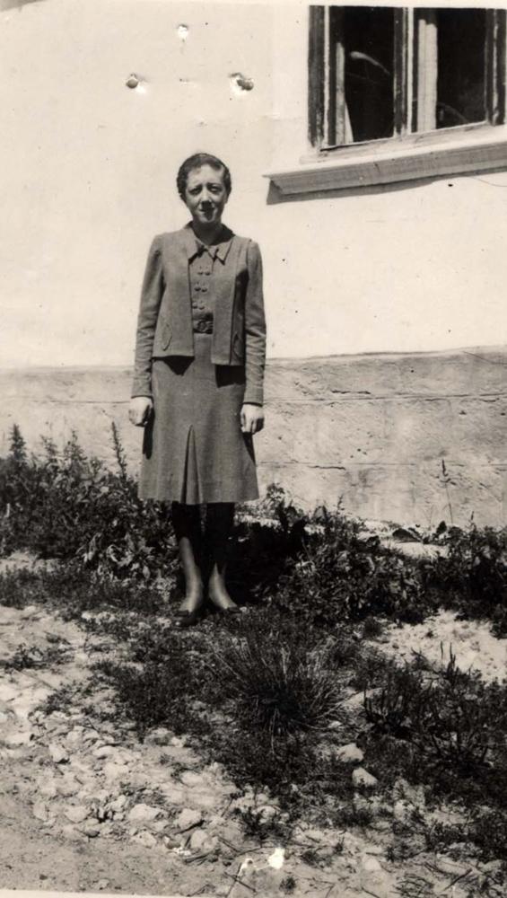 Берта Зейдманн. Фото з цифрового архіву «Яд Вашем». База даних імен жертв Шоа