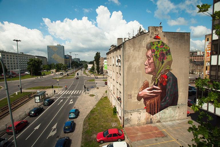 Etam Crew, mural z okazji obchodów Roku Tuwima, fot. dzięki uprzejmości artystów