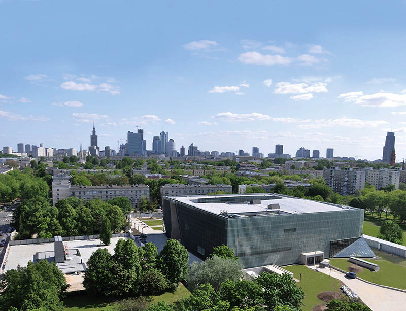Building of the Museum of the History of Polish Jews, photo: press release