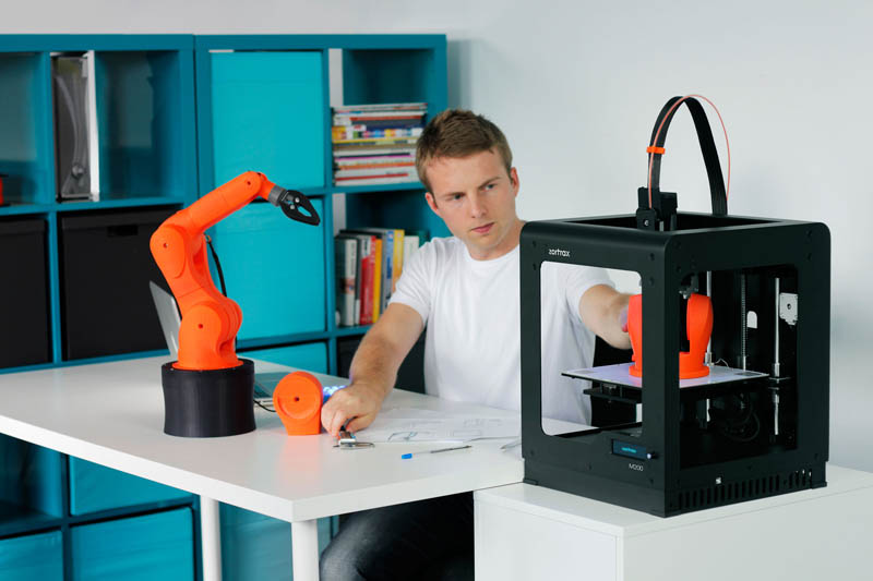 ZORTRAX 3D printer, photo: press materials/zortrax.pl
