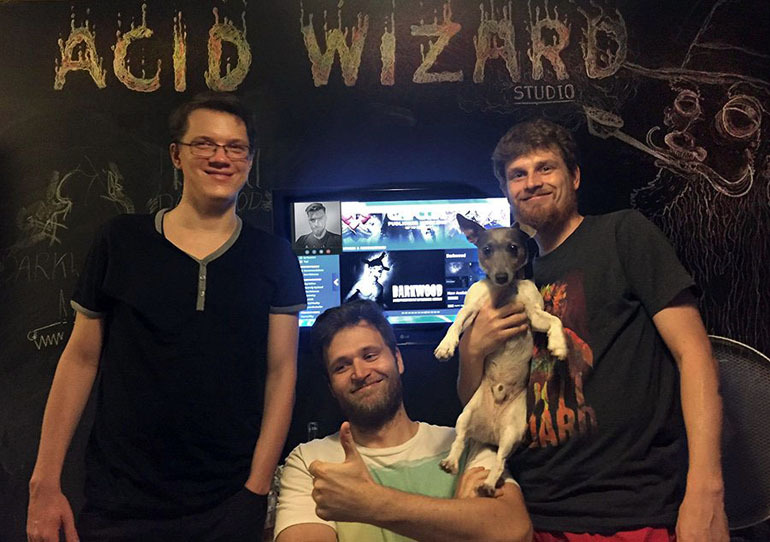 Acid Wizard Studio, creators of Darkwood, photo: promo materials