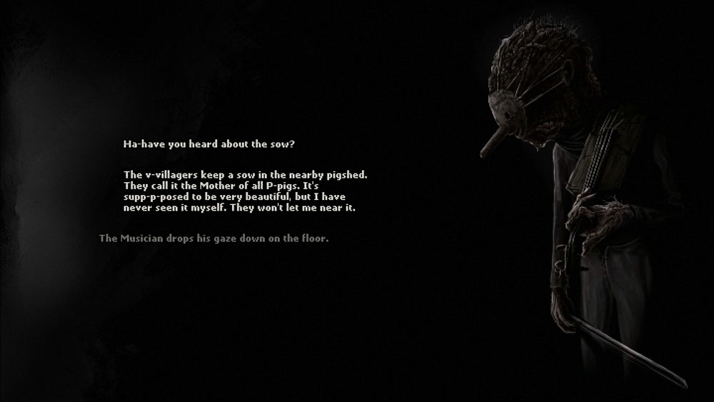 A screenshot from the video game Darkwood, photo: promo materials