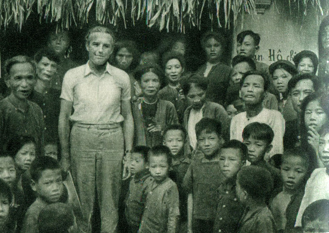 Mirosław Żuławski in Vietnam, photo: courtesy of Daniel Bird
