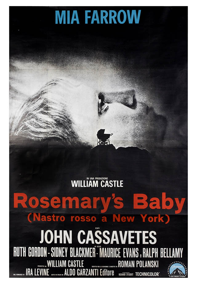 Italian poster for Rosemary's Baby, photo: The Łódź Film Museum