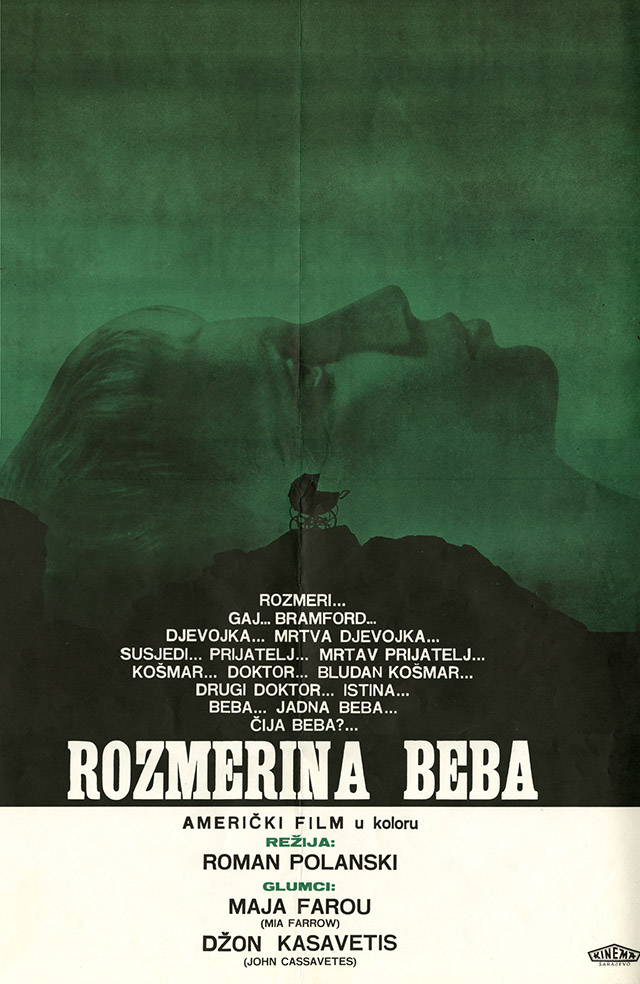 Croatian poster for Rosemary's Baby, photo: The Łódź Film Museum