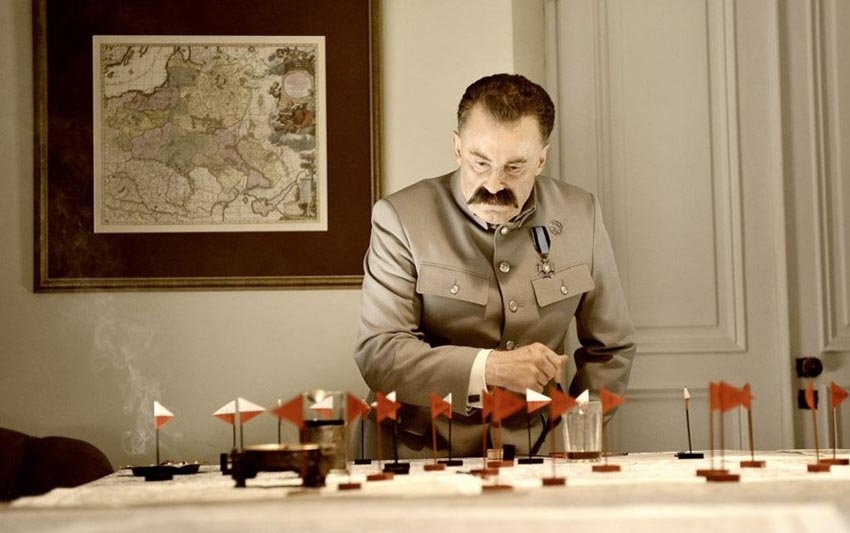 Daniel Olbrychski in Battle of Warsaw 1920 directed by Jerzy Hoffman, 2011, Forum Film Poland