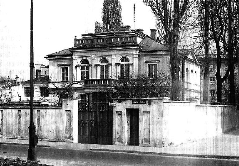 Warsaw villa on Nabielaka Street, photo: public domain