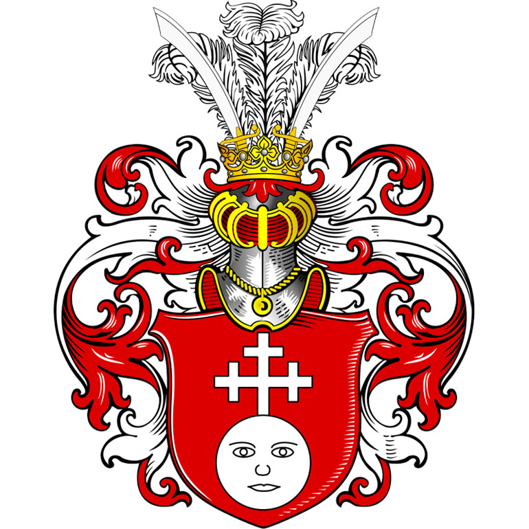 The Pełnia coat of arms as depicted by Tadeusz Gajl, photo: wikimedia.org