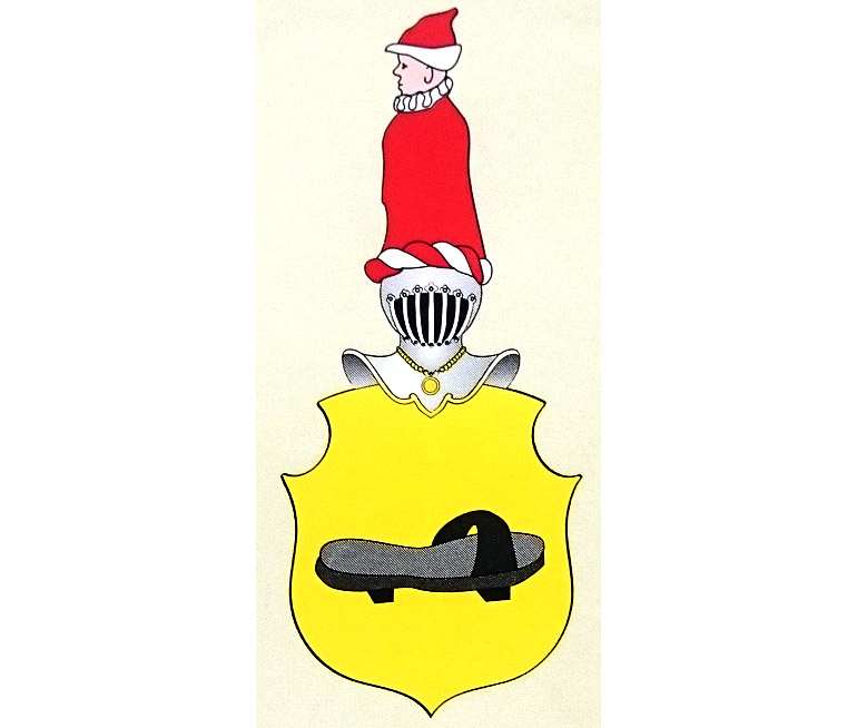 The Olszer coat of arms as depicted by Tadeusz Gajl, photo: MK